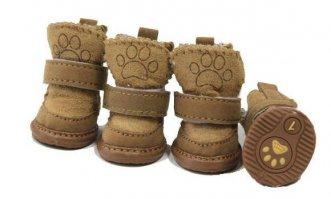 Вязаная обувь для собакВсё для кошек и собак
